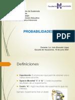 TEMA 3. PROBABILIDADES