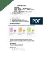 PLAN DE CLASE matematica dcm