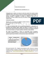 DIAGNÓSTICO DE LA MATERIA DE F.C.E 1