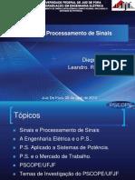Introdução Ao Processamento de Sinais PSCOPE