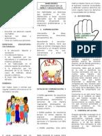 TRIPTICO DE HABILIDADES PSICOSOCIALES
