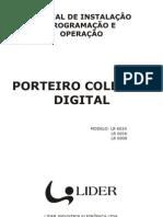 Manual Porteiro Coletivo Digital