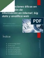 etica o  big data