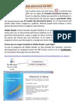 Lectura y Creacion de PDFs