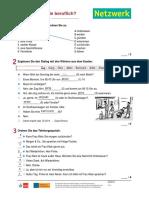 Netzwerk a2 Kapiteltest 5 1