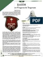 WFB8 - Daith - Seigneur-Forgeron de Torgovann [FanMade by Vlast de Naggarond]