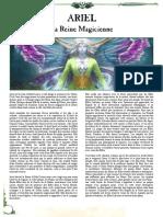 WFB8 - Ariel La Reine Magicienne d'Athel Loren [FanMade by Vlast de Naggarond]