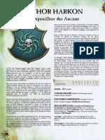 WFB8 - Luthor Harkon Le Dépouilleur Des Anciens - Personnage Spécial Pour Armé Comtes Vampires [FanMade Par Vlast de Naggarond]