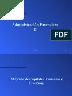 Mercado de Capitales, Consumo e Inversión