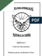 Apostila da Crisma módulo I fase 1 catecumenato