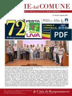 Notizie Dal Comune di Borgomanero del 27-08-2021
