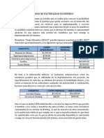 Estudio de Factibilidad Economico