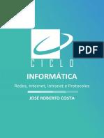 Informática 41 45 6b800 Material Redes de Computadores Internet Extranet e Protocolos de Comunicacao Aula 17 a 30