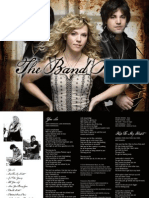 Digital Booklet - The Band Perry