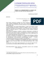 A confissão intimista na correspondência amorosa de António Lobo Antunes - estudo pragmático