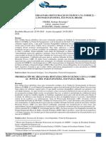 PRIORIZAÇÃO DE ÁREAS PARA RESTAURAÇÃO ECOLÓGICA NA UGRHI 22 - PONTAL DO PARANAPANEMA, SÃO PAULO, BRASIL