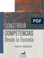 Libro - Construir Competencias Desde La Escuela