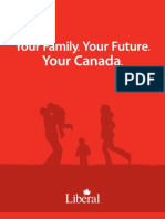Liberal Party of Canada 2011 Election Platform
