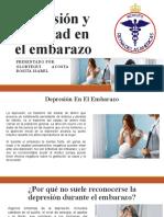 Depresión y ansiedad en el embarazo
