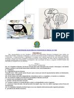 Trabalho sobre a CONSTITUIÇÃO DA REPÚBLICA FEDERATIVA DO BRASIL DE 1988