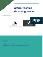 Relatório Técnico - Estrutural  - Residencia Sr Ali