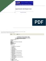 Capacitación del Supervisor - Administración de Empresas y Negocios 1