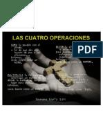 4 operaciones