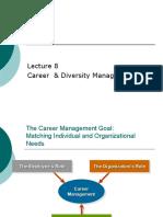 Career Management & Work-life Balance- Lecture 8