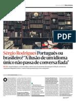 SERGIO RODRIGUES PORTUGUES OU BRASILEIRO