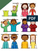 Cartões Para Imitação Expressões Faciais TEAtividades