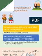 Teoría Sociológica Del Envejecimiento