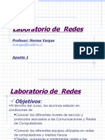 Laboratorio de  Redes - Apuntes 1