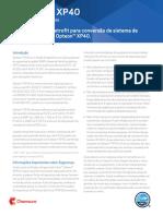 XP40. Diretrizes de retrofit para conversão de sistema de HCFC-22 para Opteon XP40. Fluido Refrigerante. Introdução