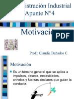 Apunte n)4,Teorias Motivacionales