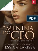A Menina Do CEO - Jéssica Larissa(CAPA NOVA)