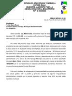 Memorandum Auditora 1 2021CM