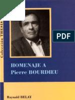 Alianza Francesa de Lima - Homenaje a Pierre Bourdieu
