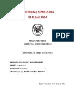 ESTRUCTURA DEL ESTADO SALVADOREÑO