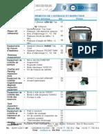 Liste des équipements de controle-FR