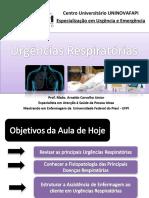 Urgencias Respiratórias