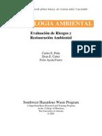 TOXICOLOGIA AMBIENTAL Evaluacion de Riesgos y Restauracion Ambiental