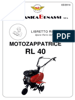 Ricambi RL 40 03-2014