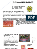 CURSOS DE MANUALIDADES 1
