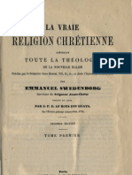 Em Swedenborg LA VRAIE RELIGION CHRETIENNE Tome Premier Numeros 1 462 LeBoysDesGuays 1878