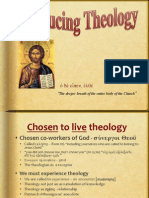 1. Theology-Chosen to Live Theology