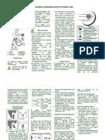Guía Rápida Fonendoscopio