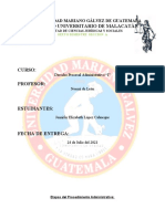 Etapas Del Procedimiento Administrativo 2021