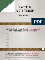 PACOTE ANTICRIME - aula 01