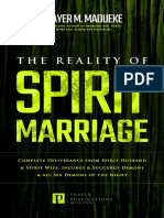 The Reality of Spirit Marriage Complete Deliverance From Spirit Husband And Spirit Wife, Incubus A--Night. ... from Destructive Water Spirits Book 6)