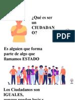 Seminario sobre ciudadanía
